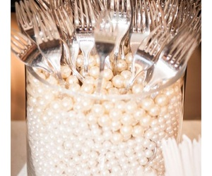 pearls, casamento, and wedding image