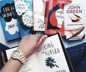 book, books, and john green image