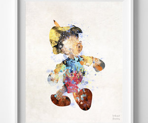 baby room, watercolour, and disney art image
