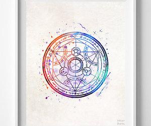 etsy, fullmetal alchemist, and disney poster image