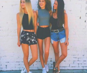 girls, fashion, and hair image