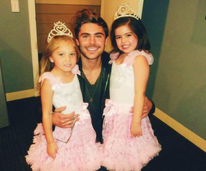 zac efron, rosie, and princess image
