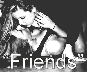 friends, love, and girl image