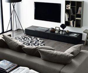 interior, black, and design image