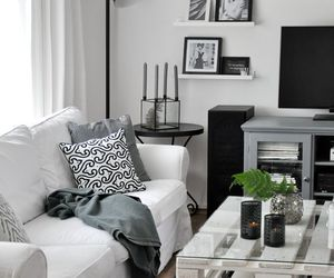 black and white, design, and home image