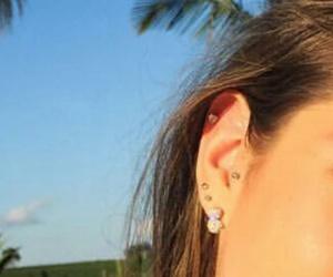 piercing girl image