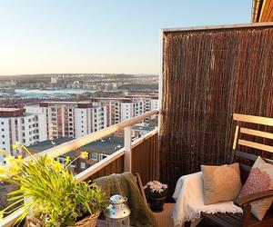 balcony, patio, and decor image