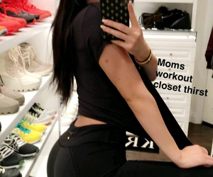 bum, wardrobe, and kylie jenner image