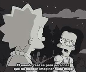 lisa, frases, and simpsons image