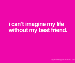 best friends, girl, and imagine image