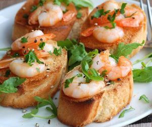 delicious, shrimp, and food image