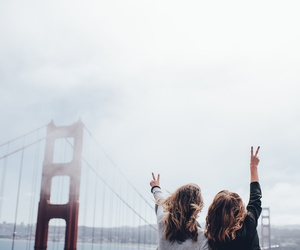 travel, friends, and tumblr image
