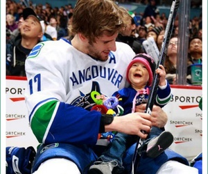 baby, hockey, and cute image