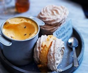 dessert, food, and meringue image