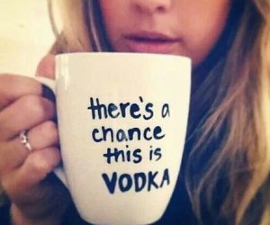 vodka, coffee, and mug image