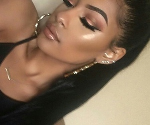 beautiful, highlighter, and pretty image