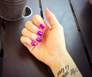 martina stoessel, nails, and violetta image