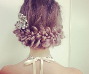beauty, hairstyle, and hairextension image