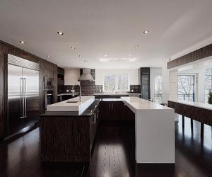 interior, ideas, and kitchen image