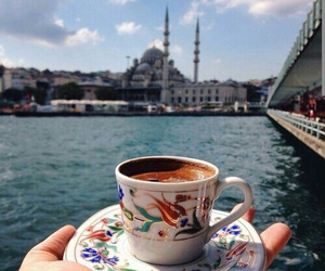 istanbul, coffee, and mosque image