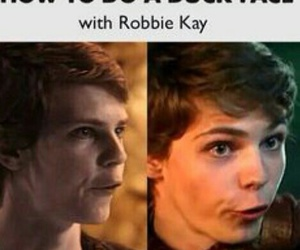 once upon a time, duck face, and robbie kay image