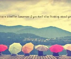 quotes, tomorrow, and yesterday image