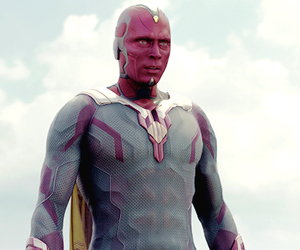 Marvel, paul bettany, and vision image