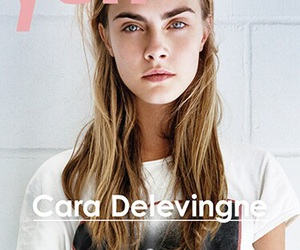 model, cara delevingne, and magazine image