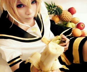 cosplay, vocaloid, and banana image