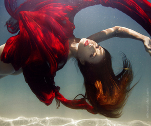 red, underwater, and photography image