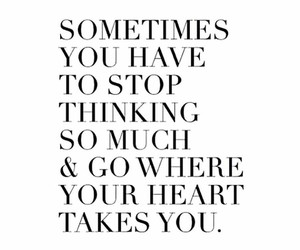 heart, stop, and thinking image