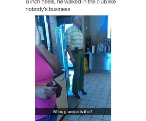 funny, heels, and hilarious image