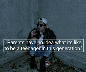 teenager, sad, and quotes image