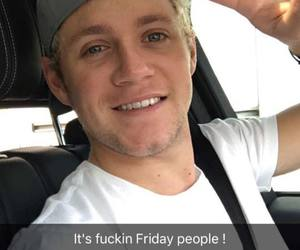 niall, niall horan, and snapchat image