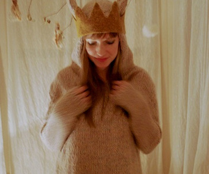 adorable, beanie, and crown image
