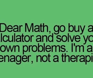 math, teenager post, and teenager image