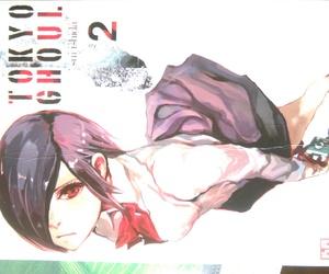 manga, tokyo ghoul, and toka kirishima image