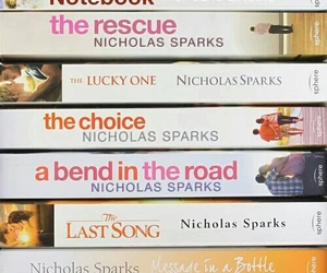 book, nicholas sparks, and the lucky one image