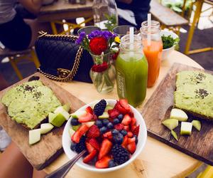 juice, food, and berries image