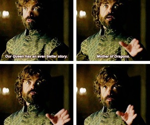 dragons, tyrion, and quote image