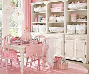 pink, decor, and vintage image