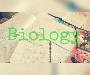 biology, books, and exam image
