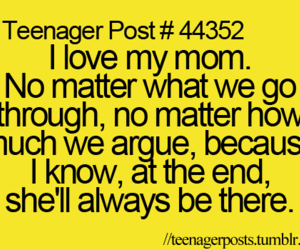 family, I Love You, and mom image
