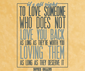 love, quote, and sophie collins image