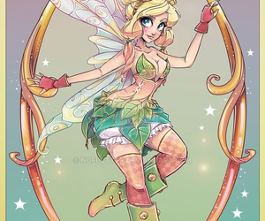 art, fairy, and tinkerbell image