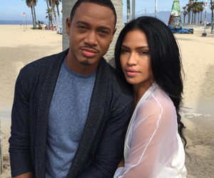beautiful, cassie ventura, and terrence j image