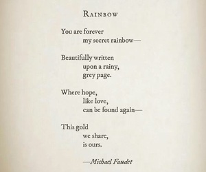 rainbow and michael faudet image