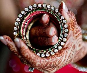 henna, bangle, and bracelet image