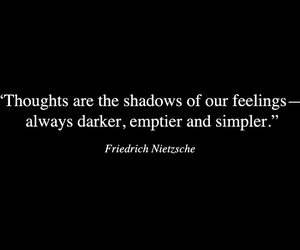 quote, dark, and feelings image
