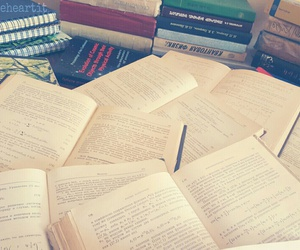 books, exam, and motivation image